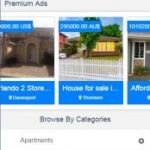 Immobilien Mobile App - Immobiliensuche - International Homes Lookup