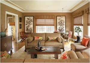 asian style living room