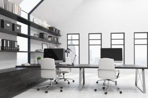office desks and workstations