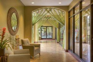 Hallway Oval Mirror