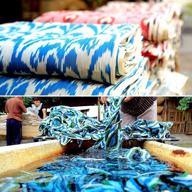 History of Ikat Fabrics
