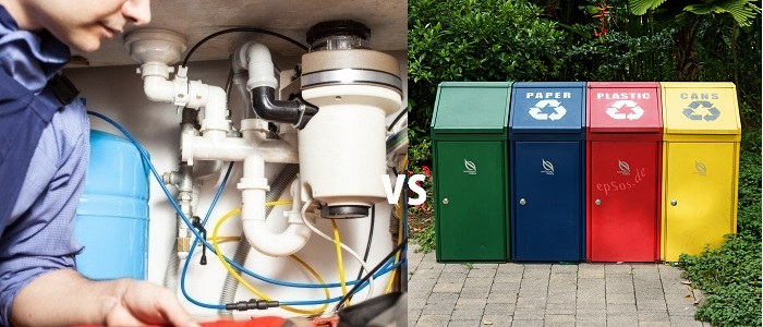 Garbage Disposals vs Trash Cans