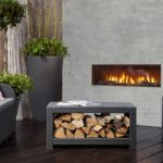 Indoor/Outdoor Luxury Fireplaces Offer Comfort and Beauty