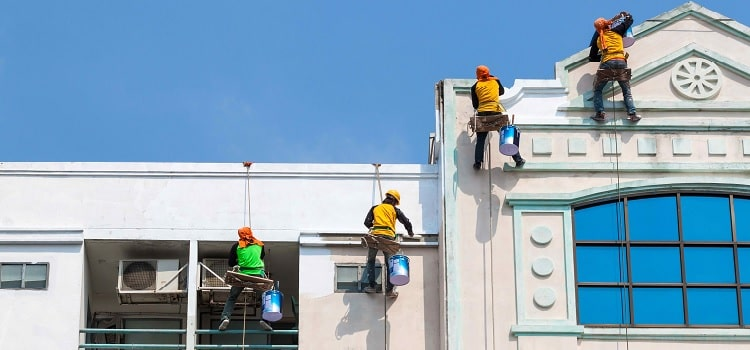 Commercial Building Painter