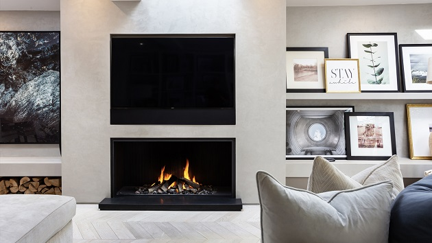 Make sure to check in with a luxury fireplace installer