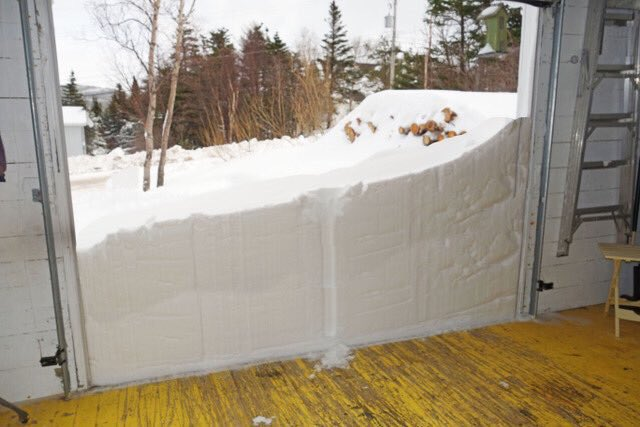 Garage-Door-For-Winter